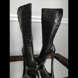 Calvin Klein 'Britton' Moc-toe Knee High Boots